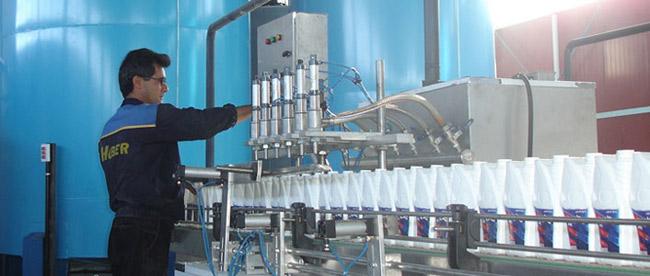 خط تولید و بسته بندی ضدیخ