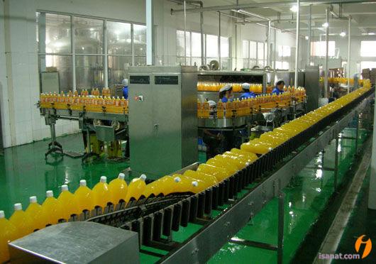 خط تولید آبمیوه و کنستانتره و آب میوه پالپ دار
