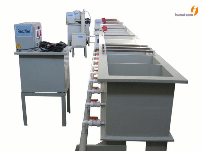 خط تولید شیرآلات بهداشتی - www.new.arnius.com