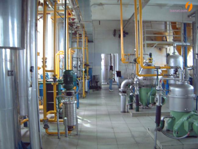 خط تولید روغن نباتی