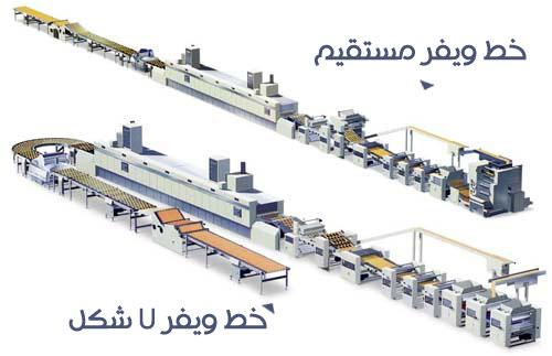 خط تولید ویفر