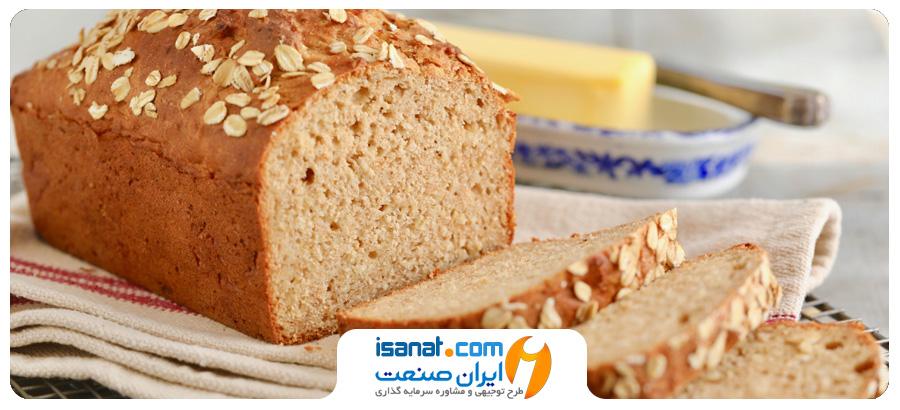 طرح توجیهی تولید نان صنعتی