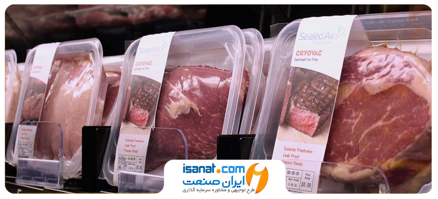 طرح توجیهی بسته بندی گوشت قرمز و گوشت مرغ
