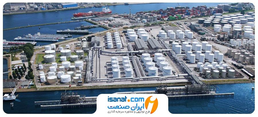 طرح توجیهی پایانه صادراتی فرآورده های نفتی و غیر نفتی