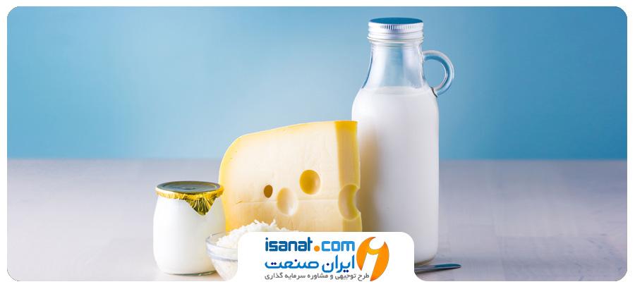 طرح توجیهی تولید شیر و خامه استرلیزه و بستنی